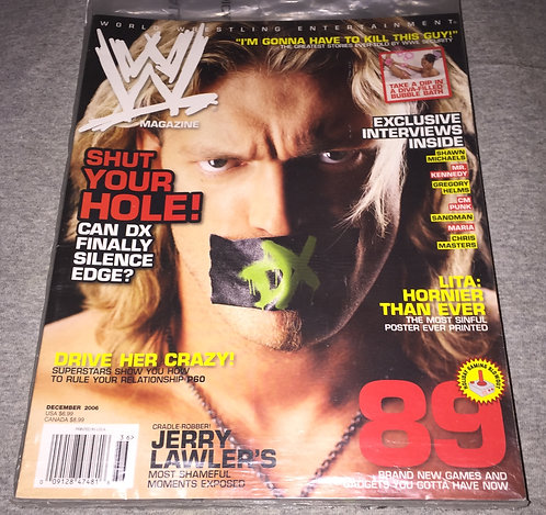 WWE Magazine December 2006 - Edge