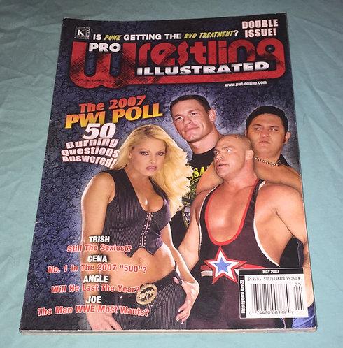 Pro Wrestling Illustrated Double Issue - May 2007 Trish, Cena, Angle, Joe
