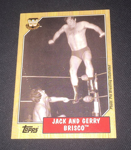 Jack & Jerry Brisco WWE Legends Wrestling Trading Card