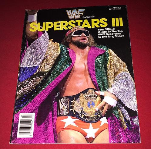 "WWF/WWE Superstars 3 Magazine - ""Macho Man"" Randy Savage"
