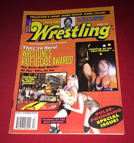 Inside Wrestling Winter 1994