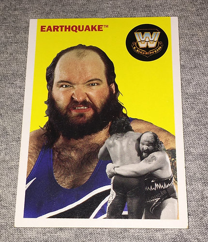 Earthquake WWE Legends Wrestling Trading Card