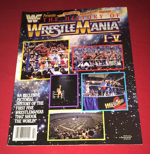 WWF/WWE History of Wrestlemania 1-4 - Special Edition