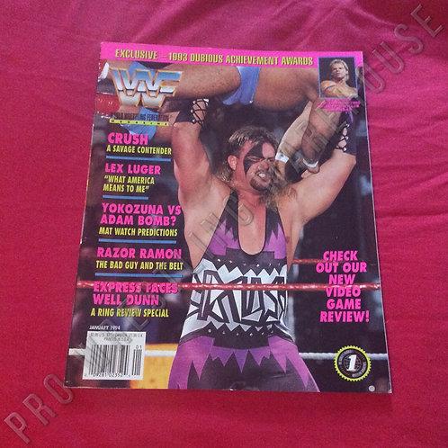 WWF Magazine - January 1994