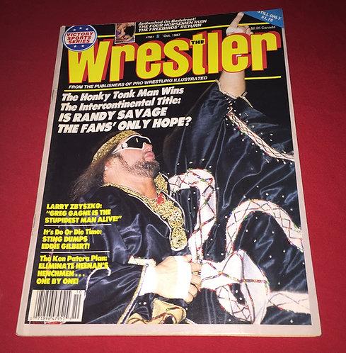 "The Wrestler October 1987 - ""Macho Man"" Randy Savage"