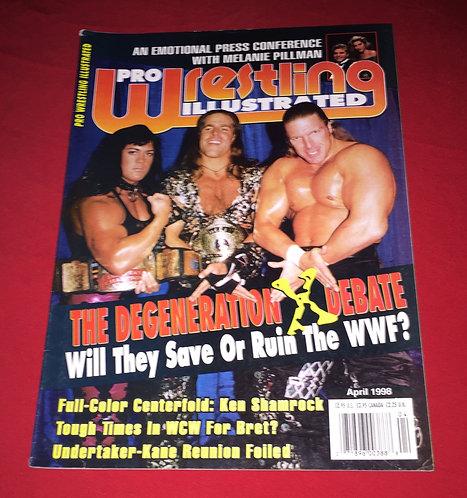 Pro Wrestling Illustrated April 1998 - DX