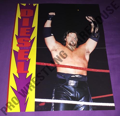 Diesel, Kevin Nash WWF, WWE, Wrestling Poster