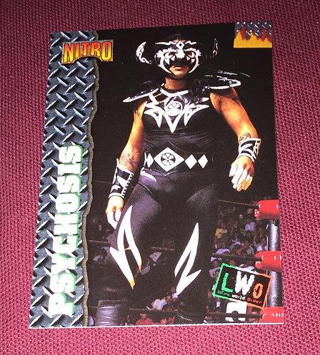 Psychosis WCW Wrestling Trading Card - Nitro, LWO, AAA, CMLL
