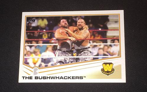 The Bushwhackers WWE Wrestling Trading Card