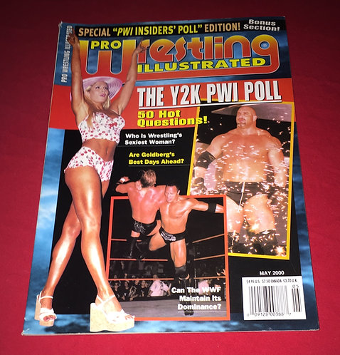 Pro Wrestling Illustrated May 2000