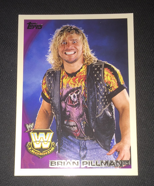 Brian Pillman WWE Wrestling Trading Card