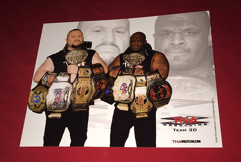 "TEAM 3D ""Dudley's"" 8x10 Promo Photo - Tag Belts"