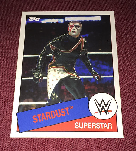 StarDust - Cody Rhodes WWE Wrestling Trading Card