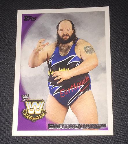 Earthquake WWE Wrestling Trading Card
