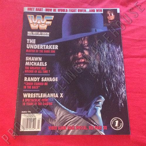 WWF Magazine - March 1994