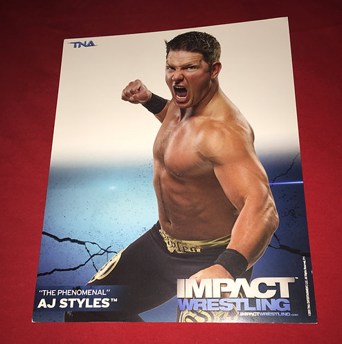 AJ Styles 8x10 Promo Photo