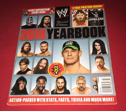 WWE Special Edition 2014 Yearbook