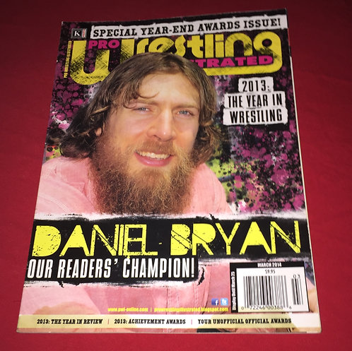 Pro Wrestling Illustrated March 2014 - Daniel Bryan