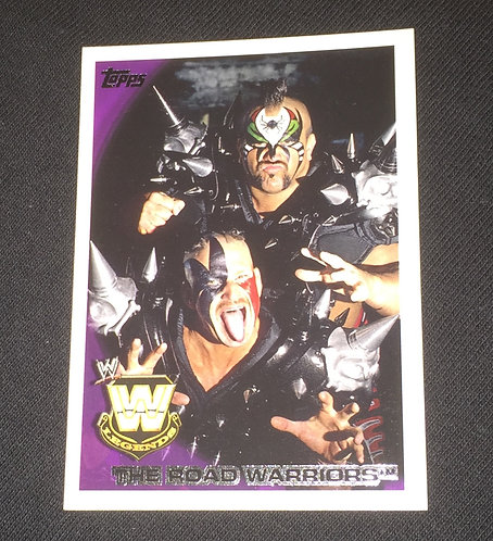 The Road Warriors WWE Wrestling Trading Card