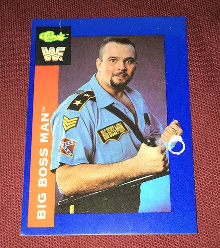 Big Boss Man WWF/WWE Classic Wrestling Trading Card