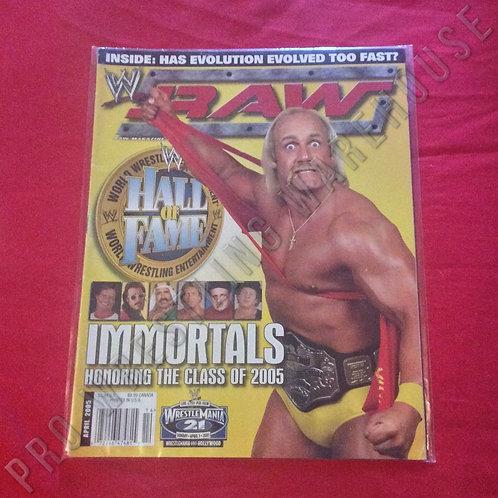WWE RAW - April 2005