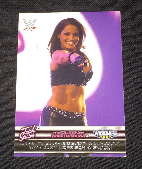 Trish Stratus WWE Wrestling Trading Card