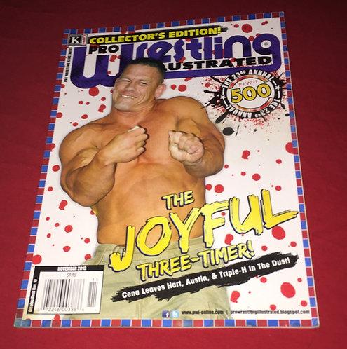 Pro Wrestling Illustrated November 2013 - Top 500 - John Cena