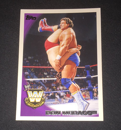 Don Muroco WWE Wrestling Trading Card