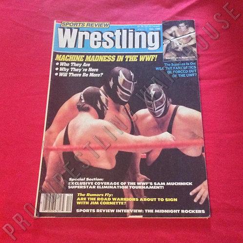 Sports Review Wrestling - December 1986