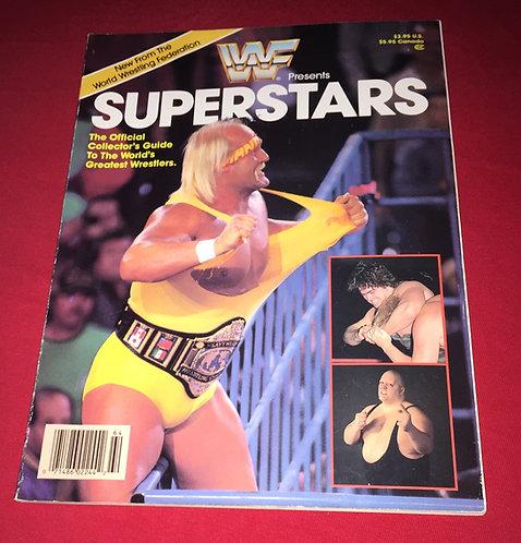 WWF/WWE Superstars Magazine 1st Issue - Hulk Hogan