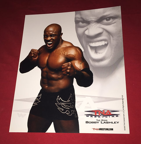 """The Boss"" Bobby Lashley 8x10 Promo Photo"
