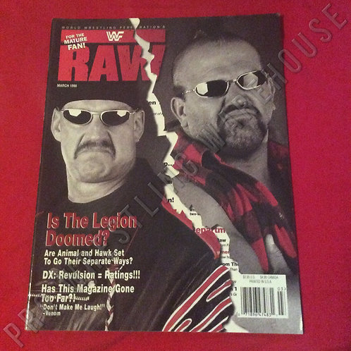 WWF RAW - March 1998
