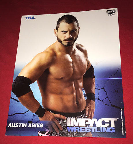 Austin Aries 8x10 Promo Photo