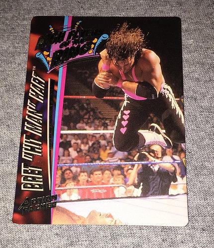 "Bret ""HitMan"" Hart WWF/WWE Action Packed - Wrestling Trading Card"