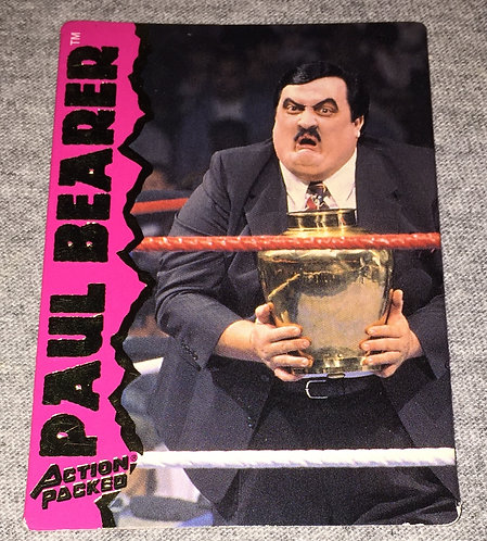 Paul Bearer WWF/WWE Action Packed - Wrestling Trading Card