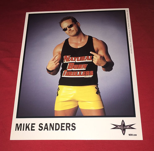 Mike Sanders 8x10 Promo Photo