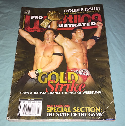 Pro Wrestling Illustrated July 2005 - Double Issue John Cena, Batista