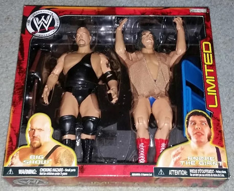 Andre The Giant & Big Show Limited Edition WWE Wrestling Figures