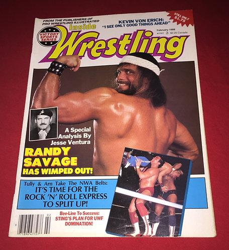 "Inside Wrestling February 1988 - ""Macho Man"" Randy Savage"