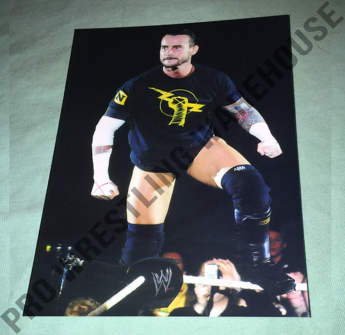 CM Punk 4x6 Wrestling Photo - WWE