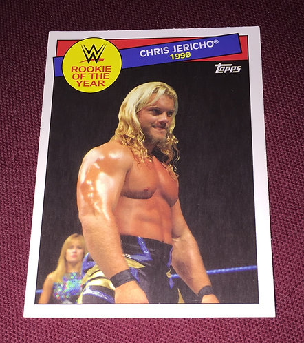 Chris Jericho WWE Wrestling Trading Card - Rookie of the Year