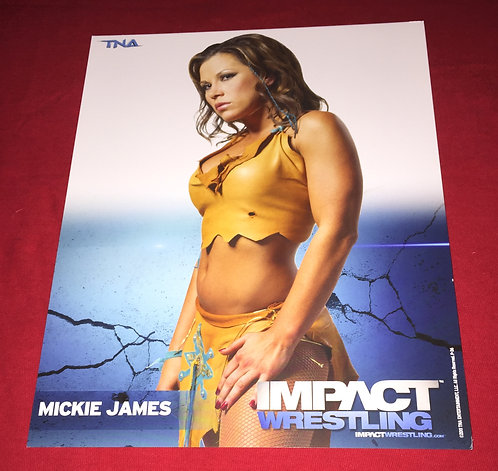 Mickie James 8x10 Promo Photo