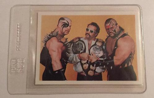 Road Warriors & Paul Ellering NWA Wrestling Trading Card - Legion of Doom