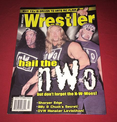 The Wrestler Magazine July 2002 - nWo, Hulk Hogan, Kevin Nash, Scott Hall