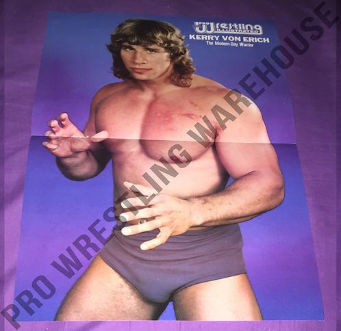 Kerry Von Erich Wrestling Poster - NWA, World Class, WCCW