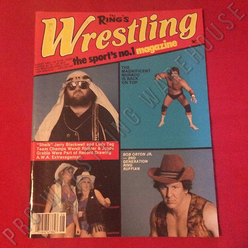 The Ring's Wrestling Magazine - August 1983