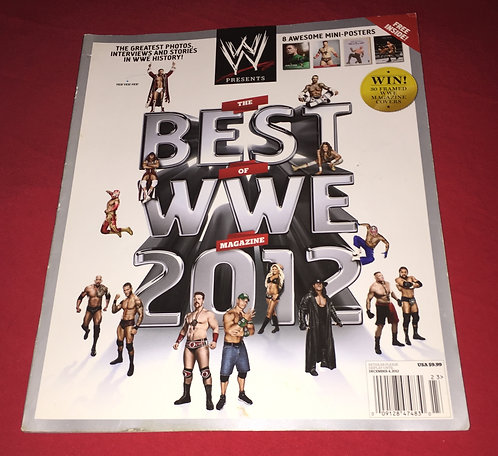 The BEST of the WWE 2012 Collector's Edition