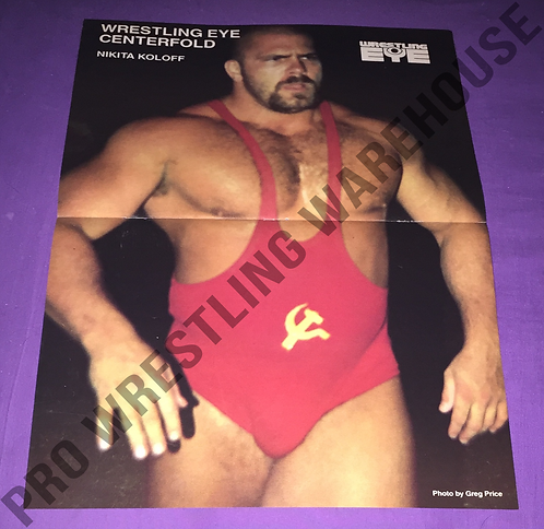 Nikita Koloff, NWA, WCW, Wrestling Poster