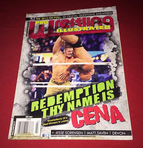 Pro Wrestling Illustrated July 2013 - John Cena