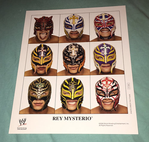Rey Mysterio WWF/WWE Promo Photo P-1093 (2006)